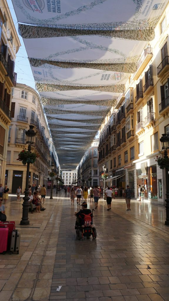 Malaga -historic center