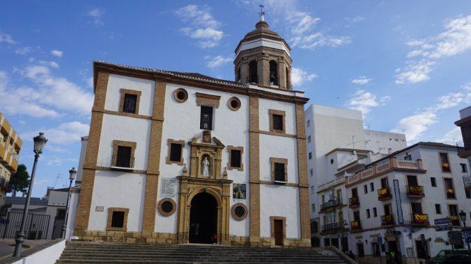 Ronda - church