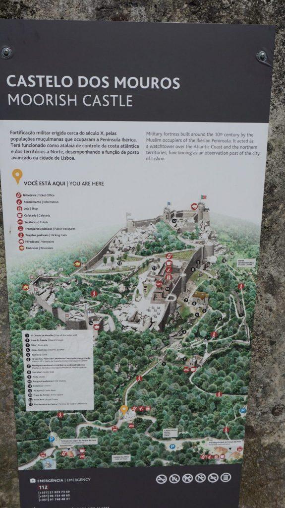 Sintra - Mouros castle