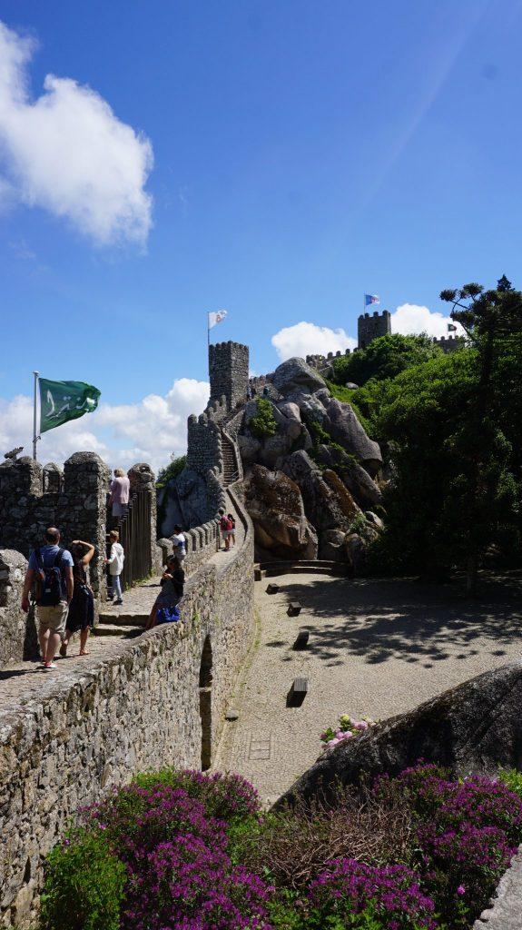 Sintra - Mouros castle5
