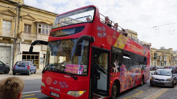 Malta - Gozo hop on bus