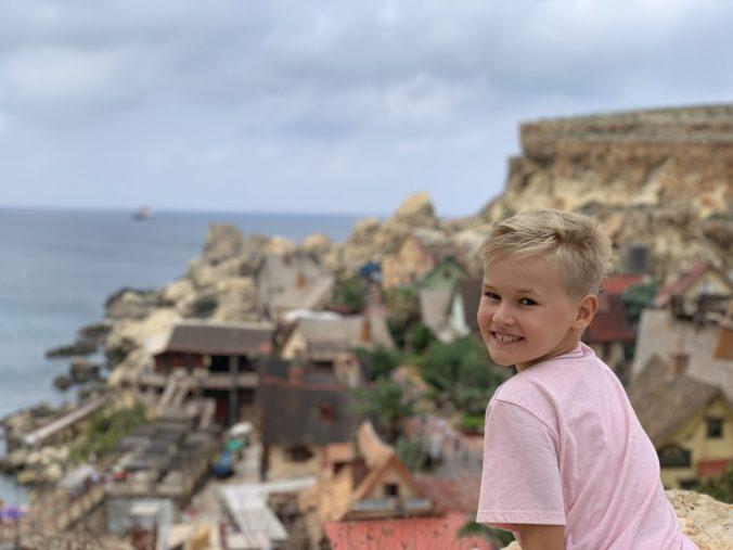 Malta - popeye village1