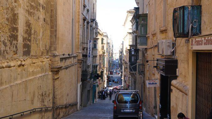 Malta - valletta streets