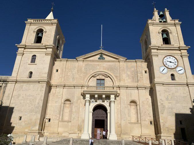 Malta - valletta cathedral