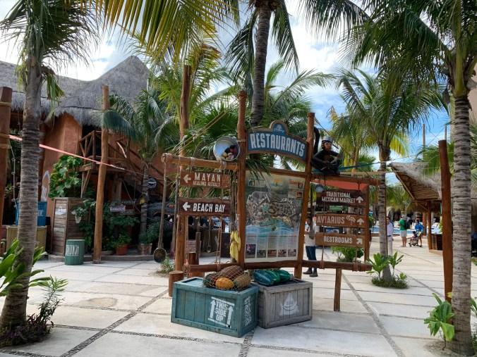 Mexic - Costa Maya port2