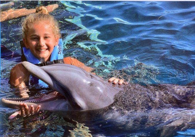 Cozumel - chankannab park dolphin1