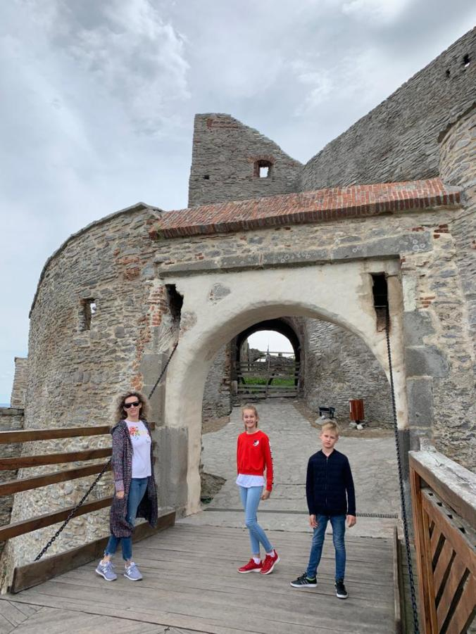 Cetatea Deva - pod