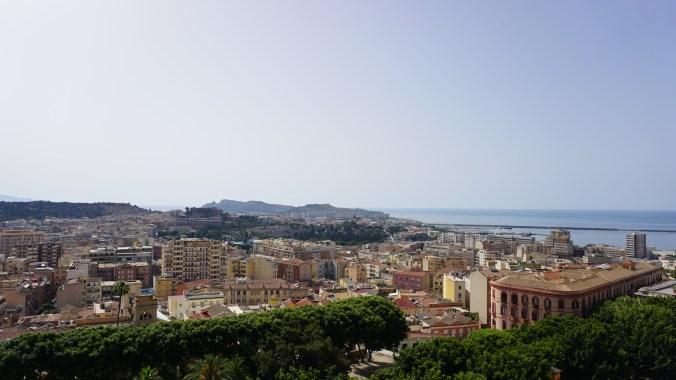 Cagliari - view