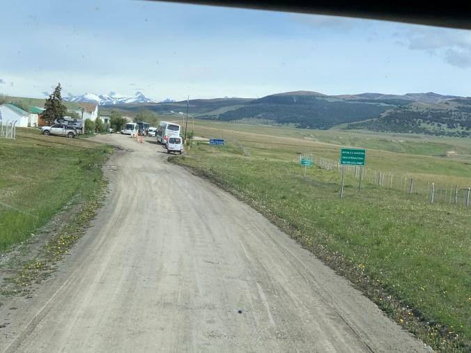 Patagonia -border
