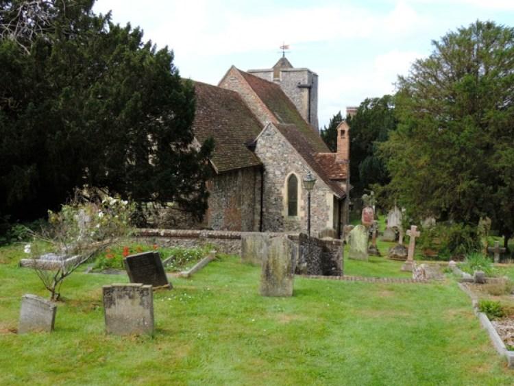 Canterbury, St. Martin's Church