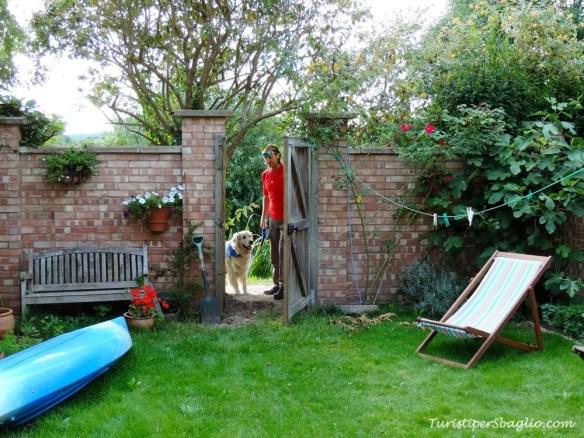 Oxford Casa: il giardino sul retro