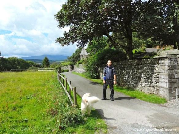 A piedi direzione Near Sawrey - sulle tracce di Beatrix Potter
