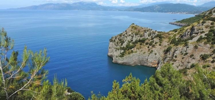 Maratea – La strada panoramica Sapri – Acquafredda SS 18