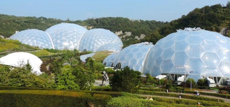 Eden Project, da brulla cava d'argilla a rigoglioso parco verde – Cornovaglia