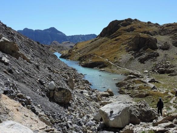 Valle de l'Ubaye vers le Lac des Neuf Couleurs