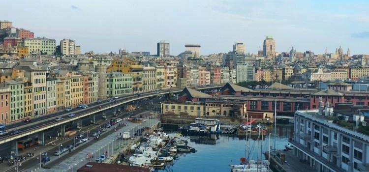 Genova vista dall'alto [on-the-road Insolita Francia del Sud]