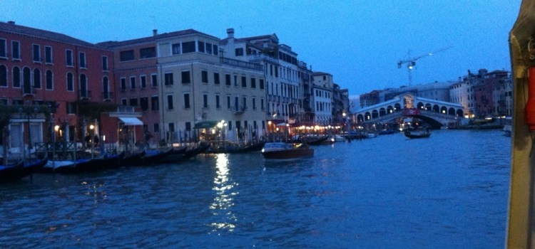 A Venezia occorre arrivare con lentezza, il nostro #scambiocasa