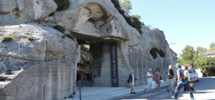 Lo Spettacolo dei Carrières de Lumières a Les-Baux-de-Provence