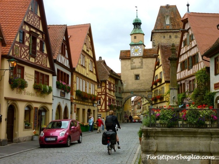 Germania on-the-road Rothenburg ob der Tauber