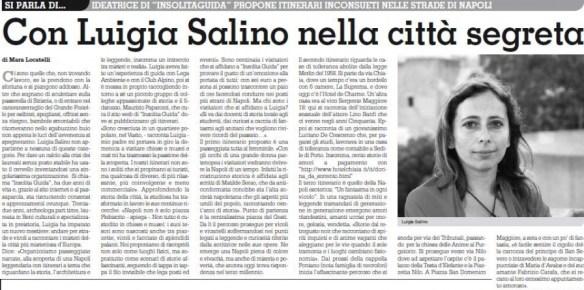 Luigia Salino Insolita Guida - Napoli