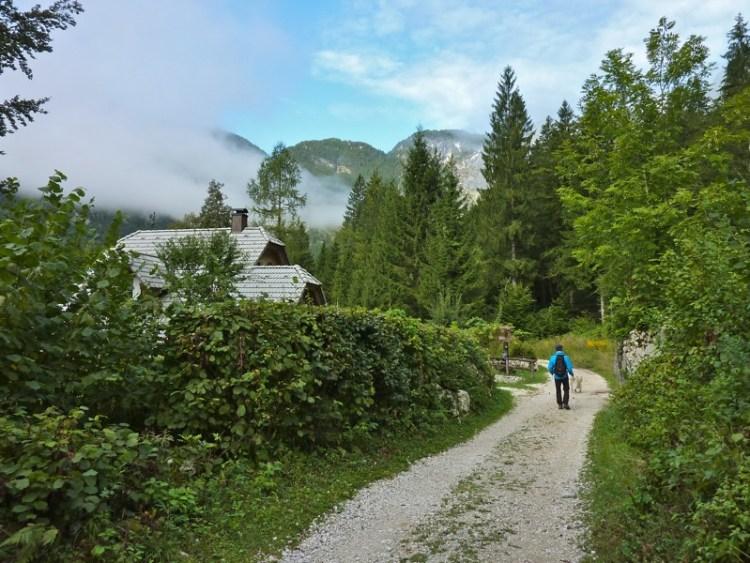 Hiking on Lake Bohinj Slovenia - 12