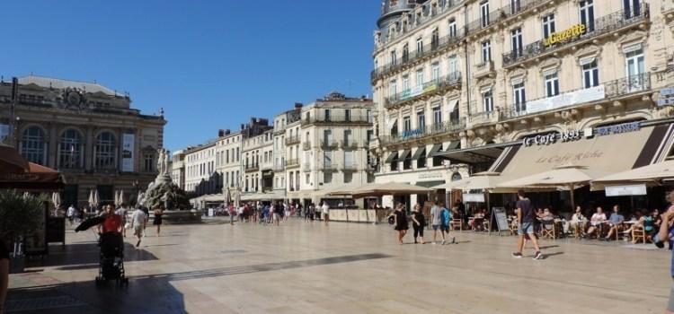 Impressioni di una domenica a #Montpellier, #Linguadoca