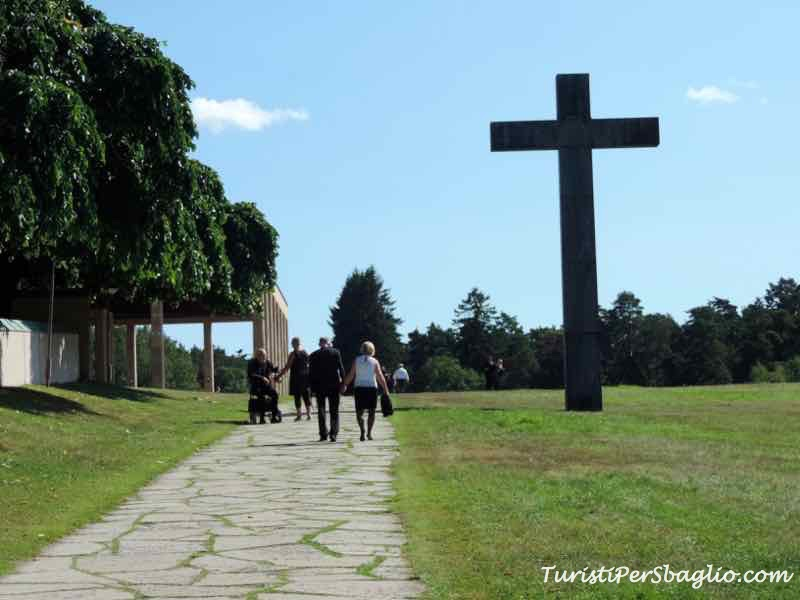 Skogskyrkogården o Woodland Cemetery, il Cimitero del Bosco di Stoccolma