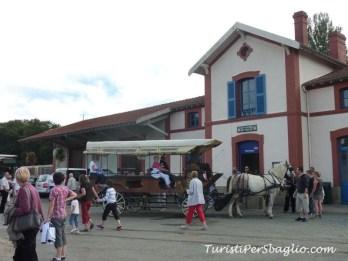 Viaggio in Bretagna Pontrieux, il treno a vapore da Paimpol