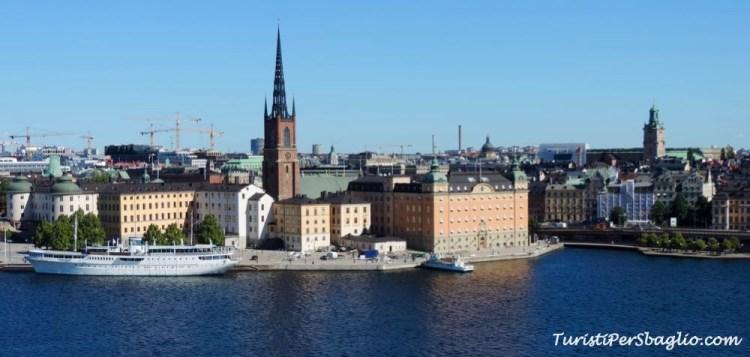 Stoccolma skyline