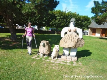 Parco delle Sculture, Costa di Granito Rosa, Bretagna