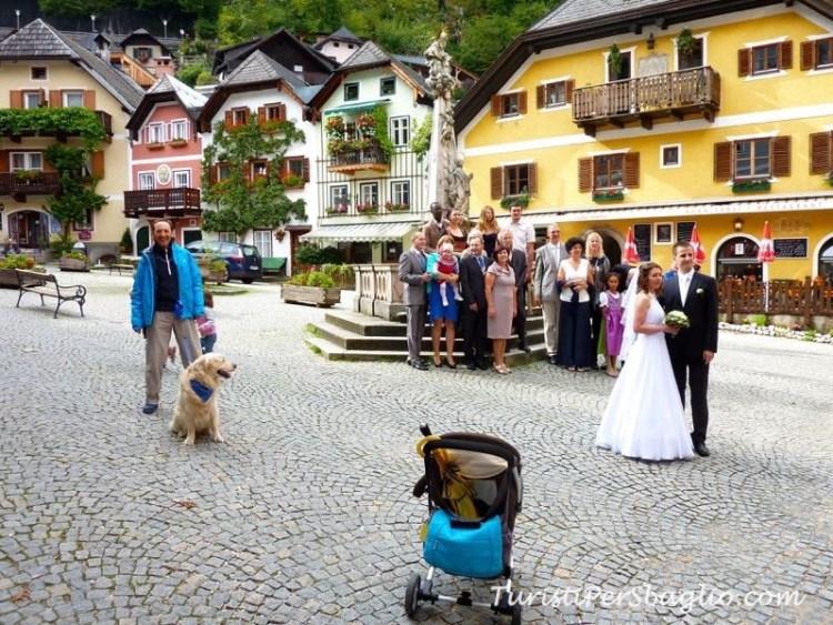 Austria, Hallstatt un matrimonio