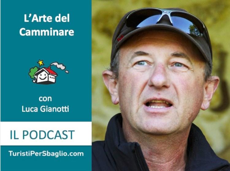 Intervista a Luca Gianotti L'arte del Camminare