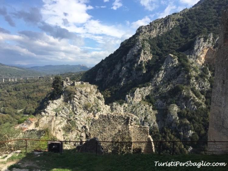 Castello di San Severino di Centola - Parco Nazionale del Cilento