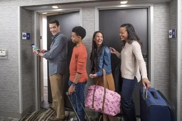 Hilton Introduces Shareable Digital Room Keys