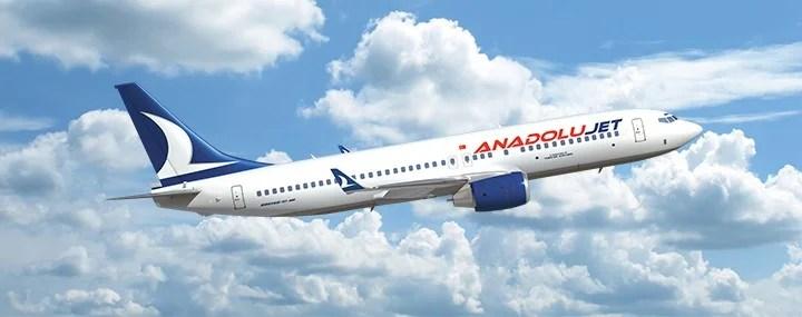 AnadoluJet Uluslararası Uçuşlara Başlıyor