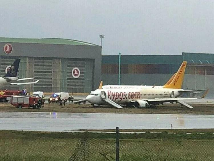 Pistten çıkan Pegasus uçağıyla ilgili kaza raporu tamamlandı