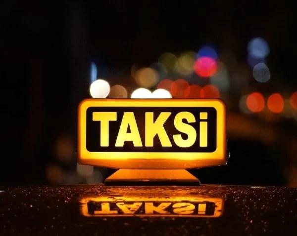 Taksiler plakasının son rakamına göre trafiğe çıkacak