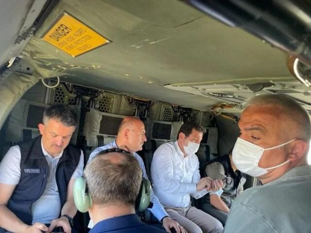 Turizm Bakanı Ersoy: 'Yanan Arazilerin Yapılaşmaya Açılması Mümkün Değil'