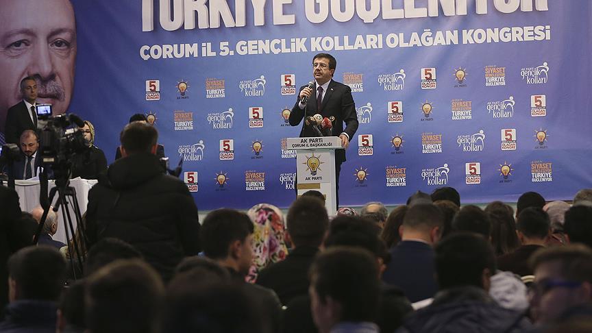 Ekonomi Bakanı Zeybekci: Türkiye 2017'nin sonu itibariyle yüzde 7,1 büyüyecek