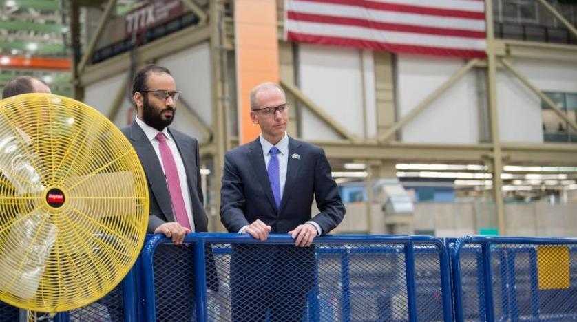 Veliaht Prens, Boeing uçak şirketini ziyaret etti