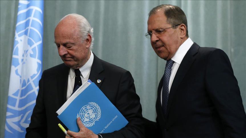 Üçlü Zirve öncesi Lavrov -Mistura'dan önemli görüşmesi