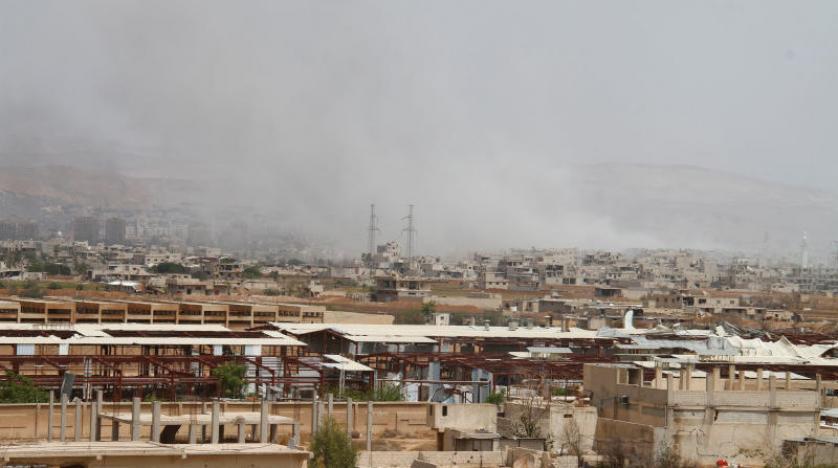 DEAŞ unsurları Şam'ın güneyindeki son mevzilerini terk etti