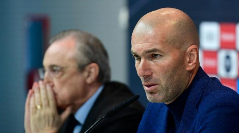 Zidane Real Madrid'den istifa etti