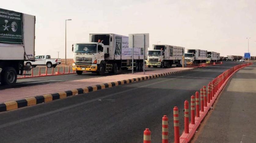Suudi yardım konvoyları Hudeyde'ye ulaştı