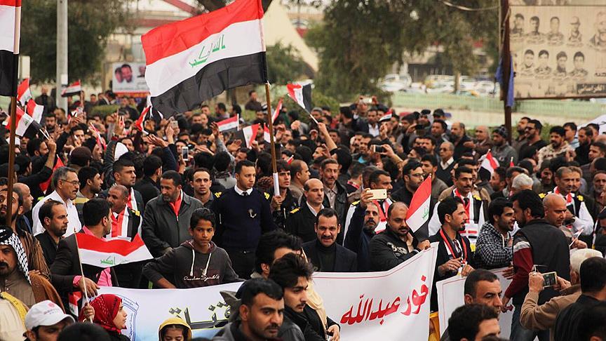 Irak'ın güneyindeki gösteriler başkente sıçradı