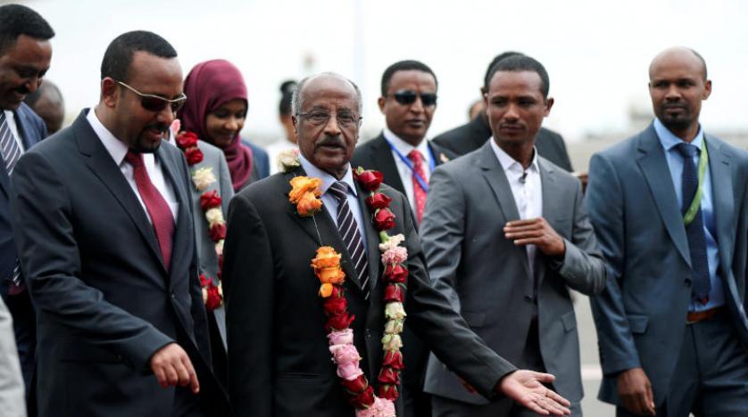 Eritre Cumhurbaşkanı'ndan Etiyopya'ya tarihi ziyaret