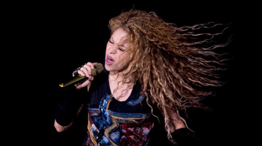 Lübnan'da konser verecek olan Shakira, Beyrut'a ulaştı