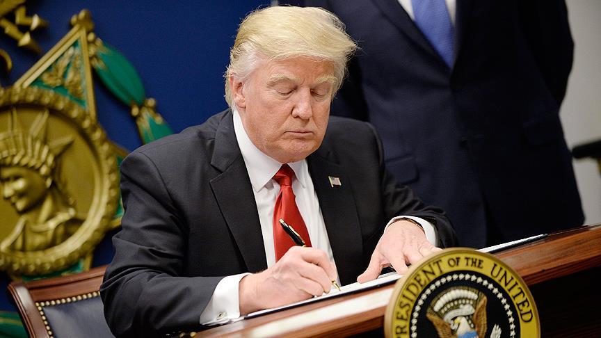 Trump'ın gri renkli müttefiklerine mesajı