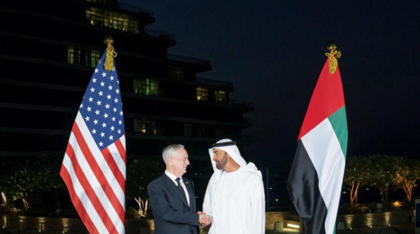 ABD Savunma Bakanı, Abu Dabi Veliaht Prensi ile bir araya geldi