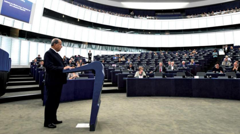 Lübnan Cumhurbaşkanı Avn, AB'den mülteci sorunu için destek istedi